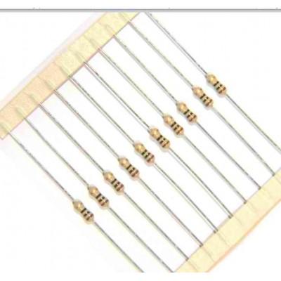 تصویر نمونه برای مقاومت 1/4 وات با خطای 5 درصد