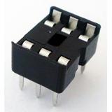 سوکت آیسی DIP معمولی 6 پایه