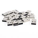 کانکتور USB نوع A نری - 4 پین رایت