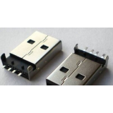 کانکتور USB نوع A نری - 4 پین صاف