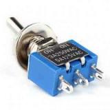 کلید گلنگی دو وضعیتی 3 پایه آبی
